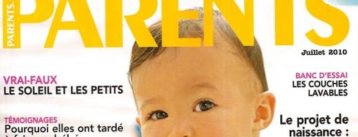 Magazine Parents Juillet 2010