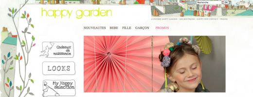 Happy Garden HomePage